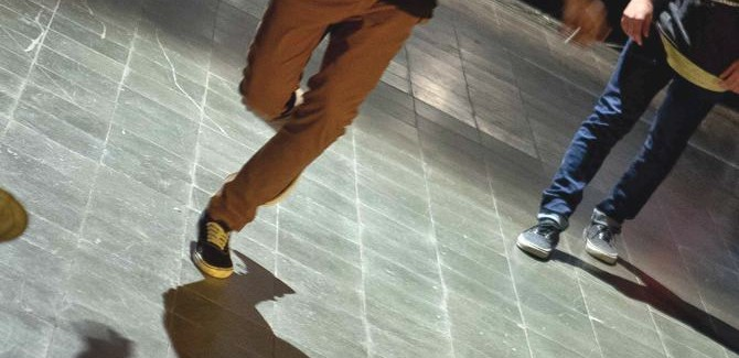 Hip hop: Freestyle dance